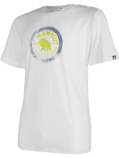 Mammut Seile t-shirt Heren wit